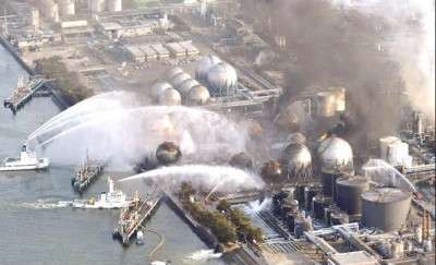 Attempting to control the nuclear disaster at Fukushima