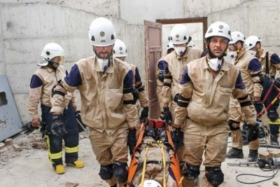 """... its Center for Contemporary Arab Studies (CCAS), and its Middle East-North Africa (MENA) Forum showed the Netflix propaganda film """"The White Helmets""""."""