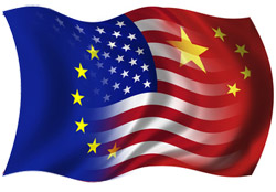 UE USA Chine