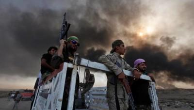 miliciens chiite irakiens