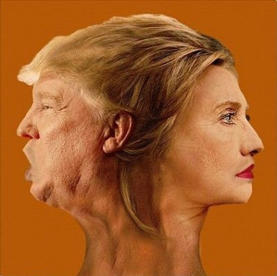 Trump Clinton