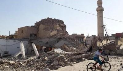 ISIL terrorists bomb Prophet Jirjis Mosque in Mosul