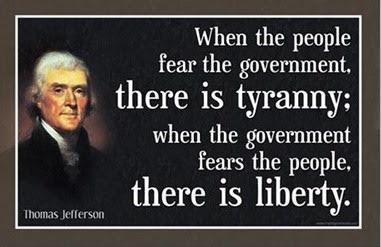 thomas jefferson fears