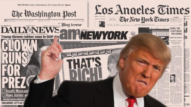 Aktivity kolem Trumpovy zahraniční politiky jsou skandální, ale média vám neřeknou proč