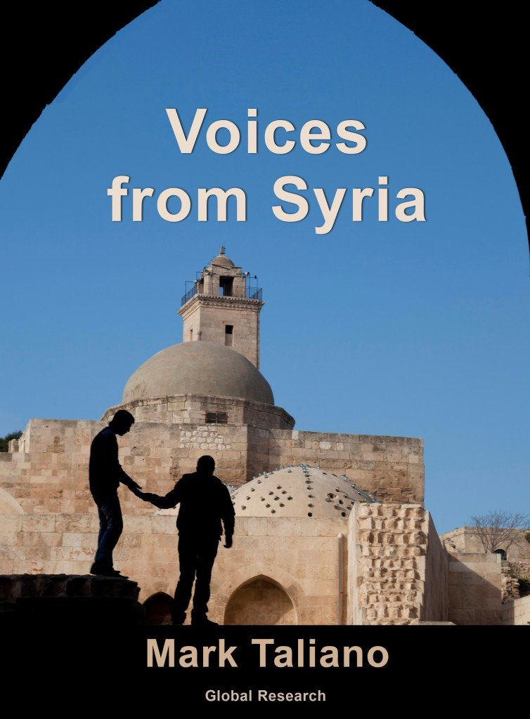 """I Am A Syrian Living in Syria: """"It was Never a Revolution nor a Civil War.Terrorists are sent by your Govt""""  American People, Please Help Us Voices-from-Syria-cover-754x1024"""