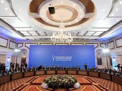 Syria Ceasefire Agreement In Astana Turkey Russia Iran Establish