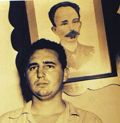 Martí and Fidel Castro