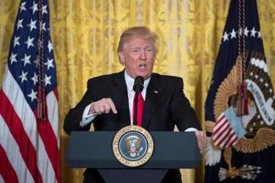 Trump versus press