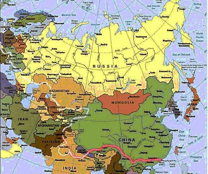 Usa domination eurasia