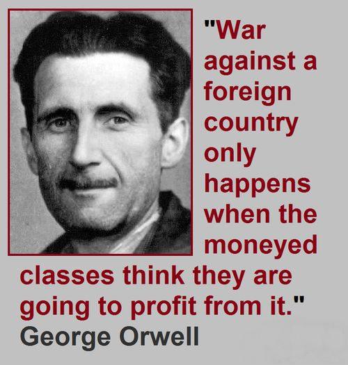Orwell quote from