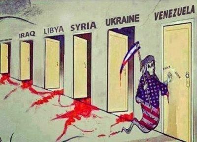 Image result for Venezuela CIA CARTOON