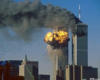 south tower hit