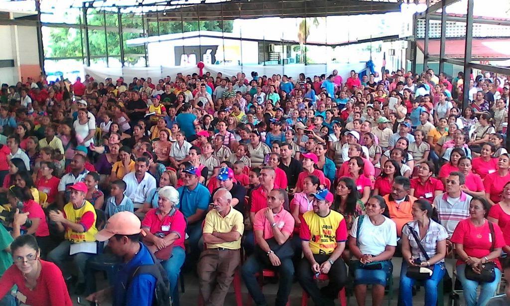 Assemblée populaire pour faire des propositions dans le cadre de  l Assemblée Nationale Constituante, dans l état d Apure le 20 mai 2017. c86089226080