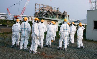 Fukushima-Daiichi: High Levels of Cesium Radioactive Material Migrating Down into Soil Around Fukushima