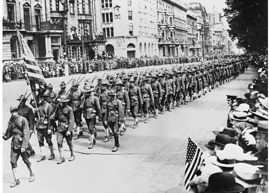 1917 Cento Anni Fa Gli Stati Uniti Fanno Il Loro Ingresso