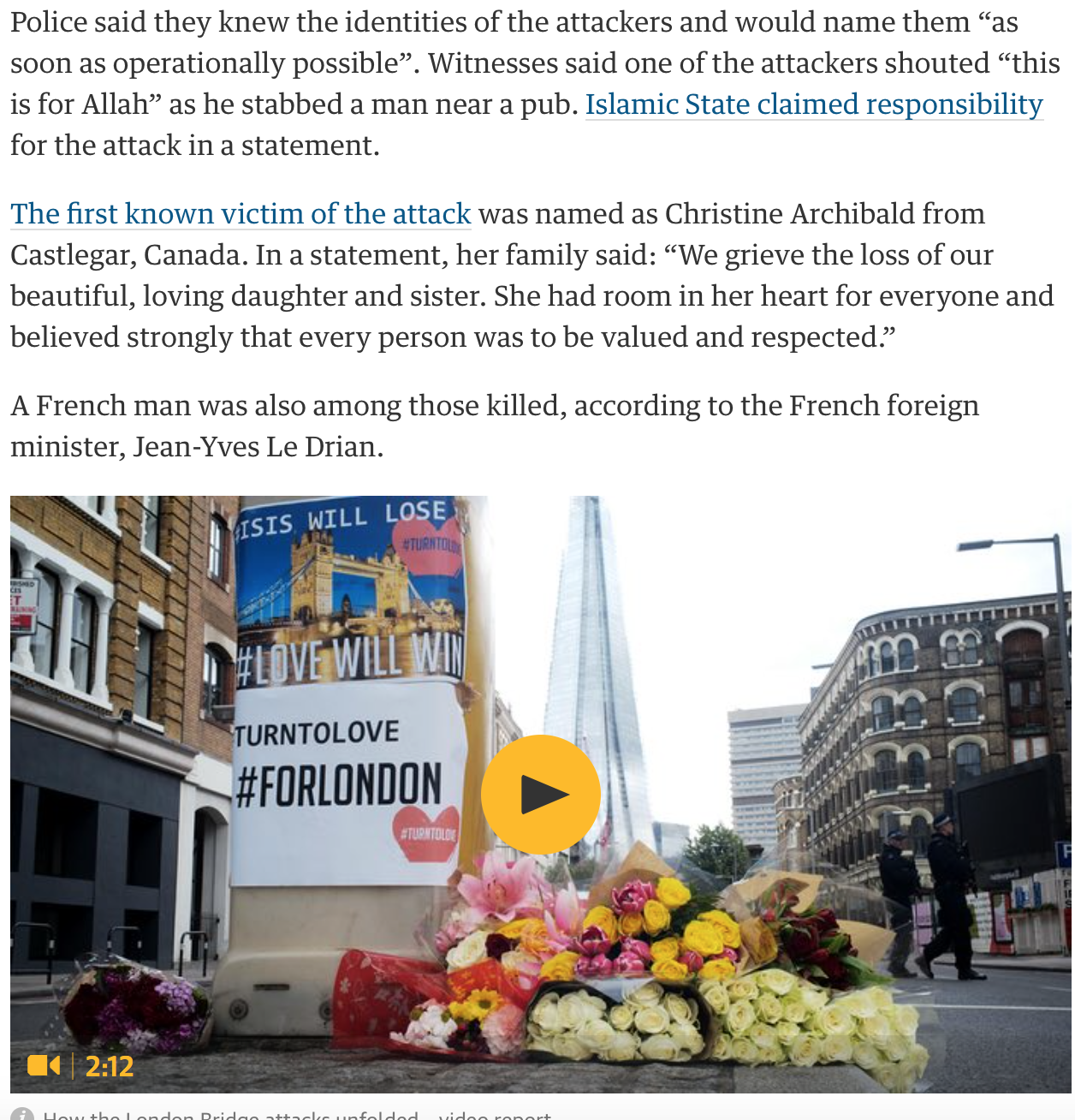 London Bridge Terror Attack: Human Tragedy, Hypocrisy, Double ...
