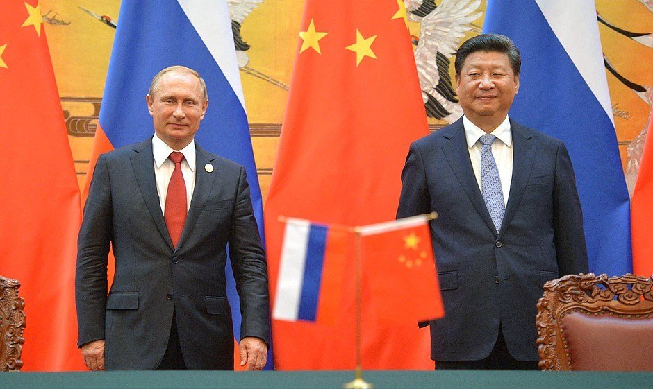 Pres. Putin and Pres. Jinping (Source: Strategic Culture Foundation)