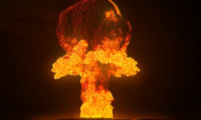 Doomsday Clock. 2 1/2 Minutes to Midnight. Ever Closer to Nuclear War