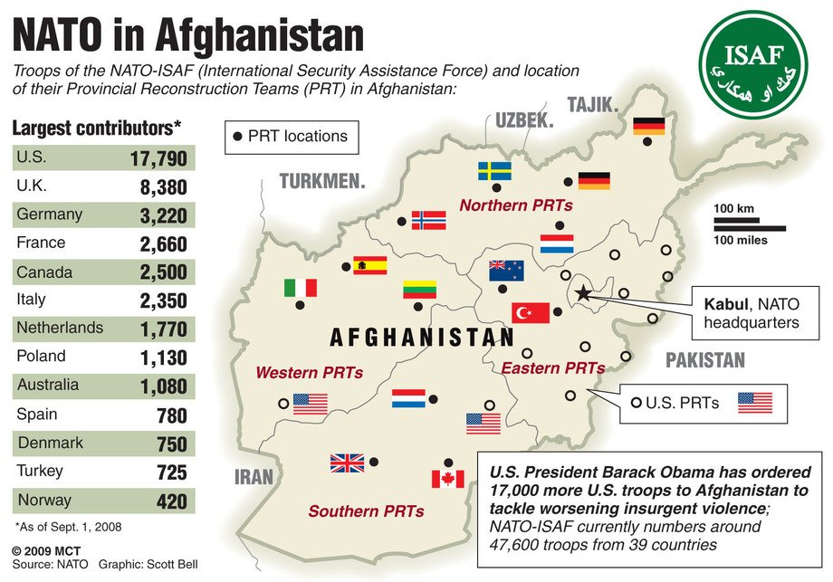 More American Troops To Afghanistan To Keep The Chinese Out - Us military bases in germany map