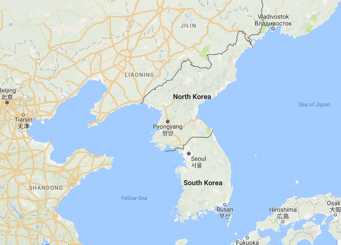 North Korea And The Dangers Of Nuclear War Towards The - North korea map of us targets