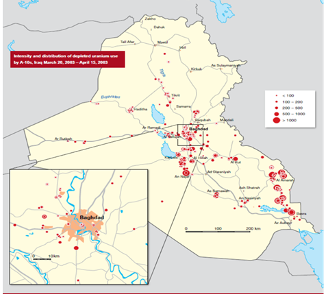 Depleted Uranium and Radioactive Contamination in Iraq: An ...