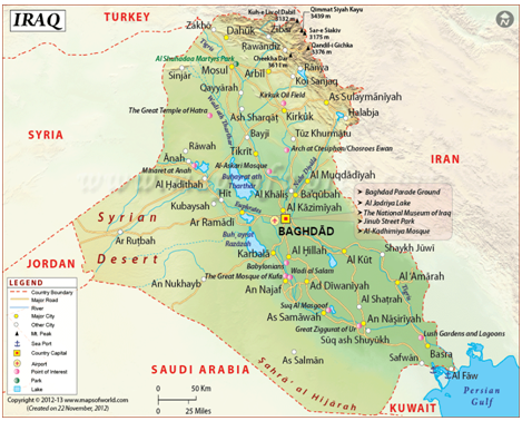 Depleted Uranium and Radioactive Contamination in Iraq: An Overview ...