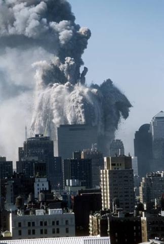 WTC-2 exploding