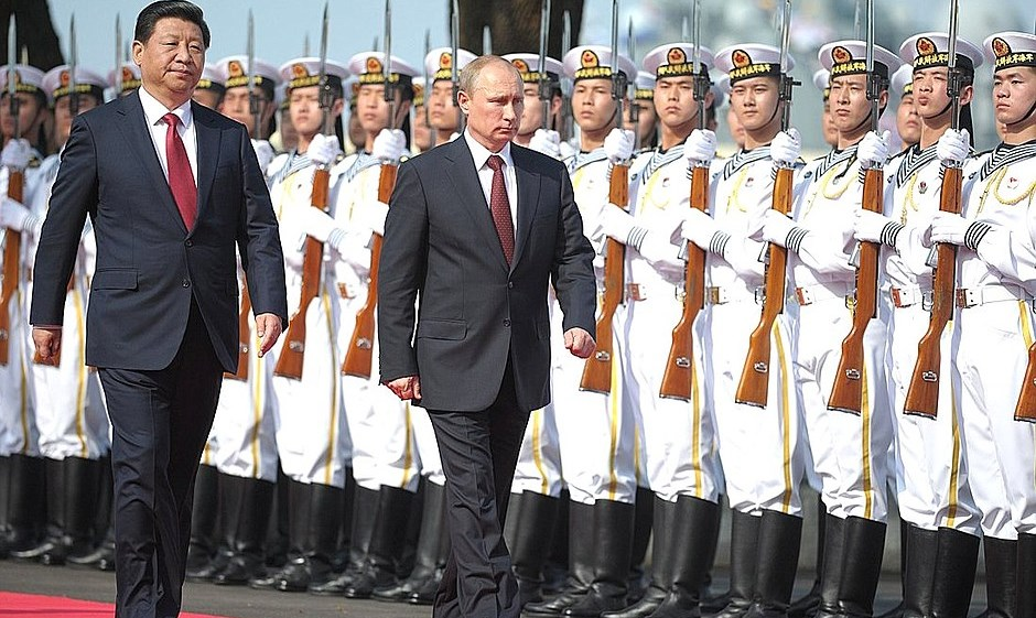 A Failing Empire: Russia and China's Military Strategy to Contain the US