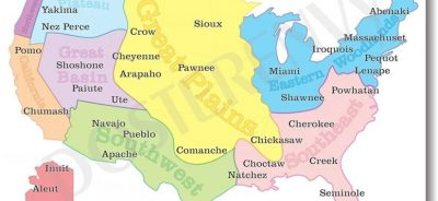 First Indigenous Map Of Its Kind US Map Displays Our Own Names - Us global map