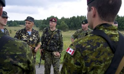 Canadian Military Pays Artists and Historians to Shape What You