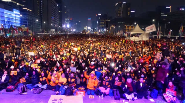 The Second Candle-Light Revolution in Korea: The People's Fight for the Survival of Clean Democracy