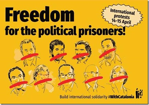 Madrid Repression of the Catalan Movement: Call for International Solidarity