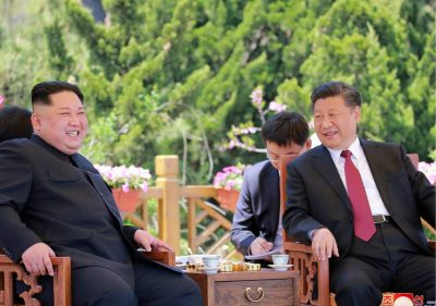 Strategizing in the Wake of the Singapore Summit: The Kim-Xi Meeting in Beijing DPRK-leader-visits-China-again-on-June-19-2018-for-talks-with-Xi-Jinping-400x281