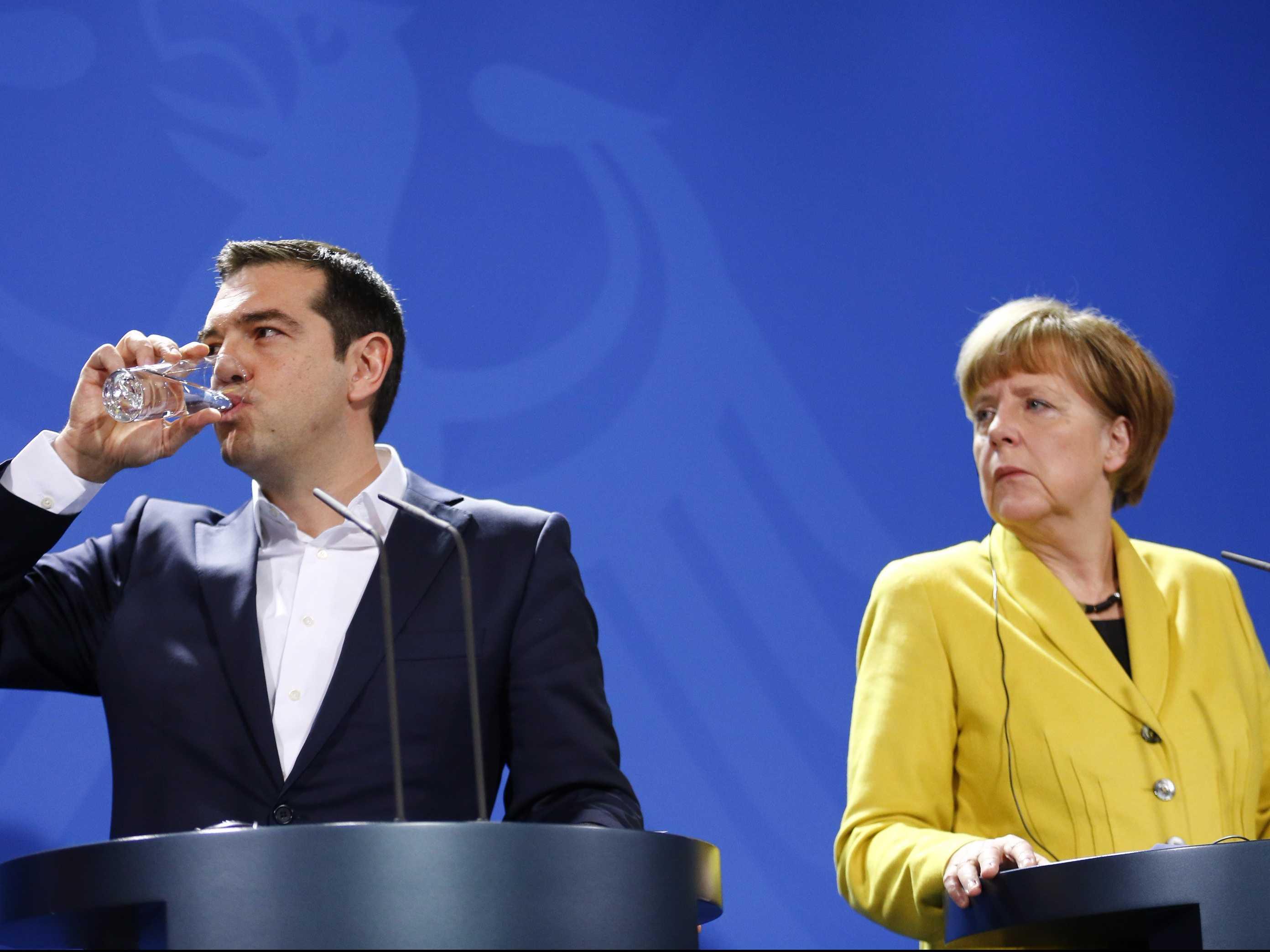 Germany Intervening Again in Greek Affairs!