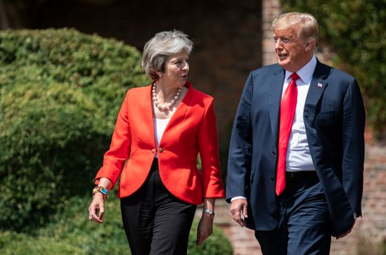 Don't Be Deceived – Secret Trade Talks at Heart of Trump Visit to Britain