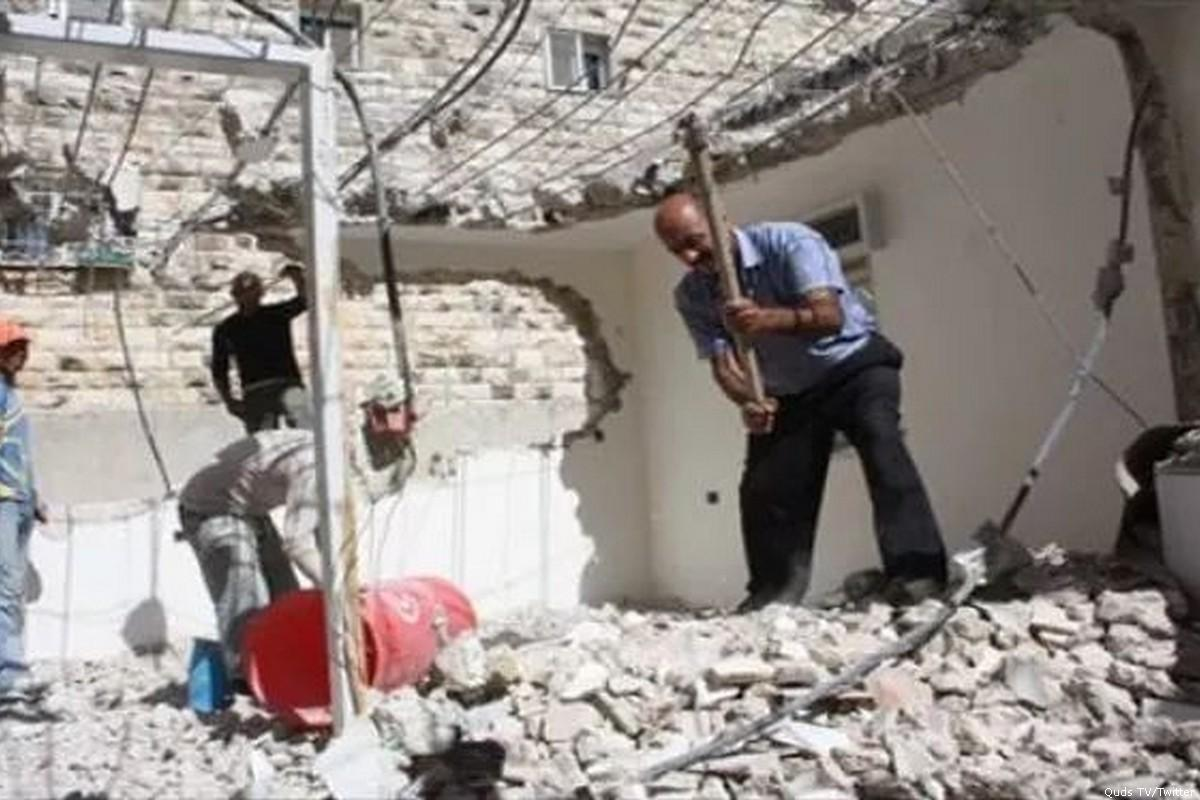 Israel Forces Palestinian to Demolish His Home on His Wedding Day