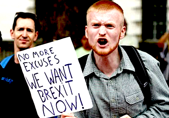 Brexit: En-Route to Extremism and Violence