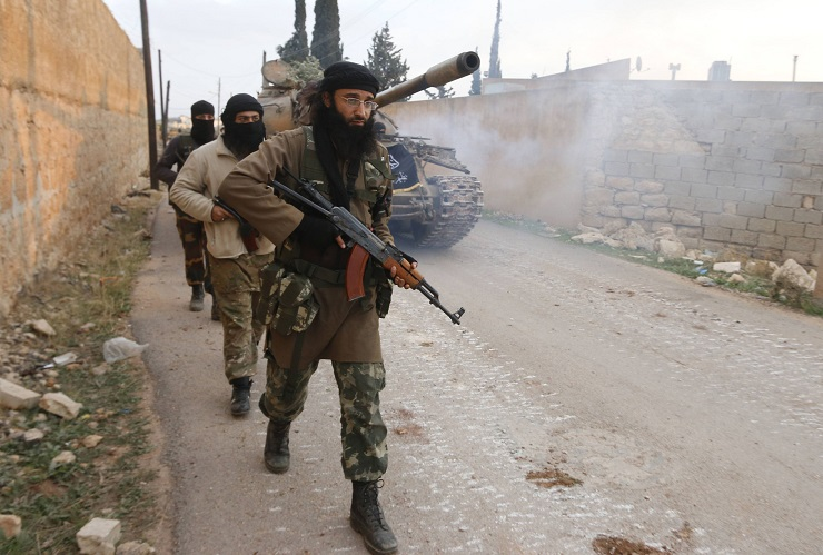 Marines Team Up with Islamists in Syria