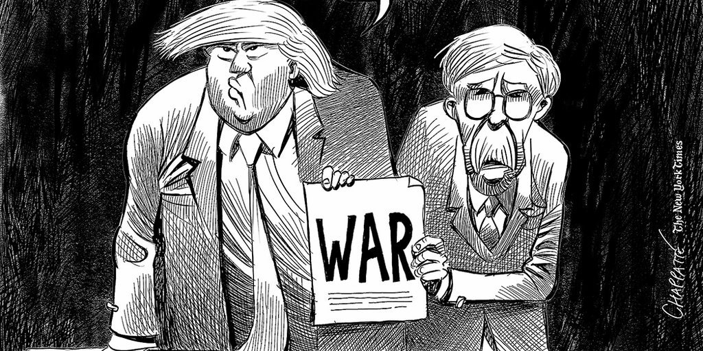 Trump Admin Follows Corporate Media Playbook for War with Iran