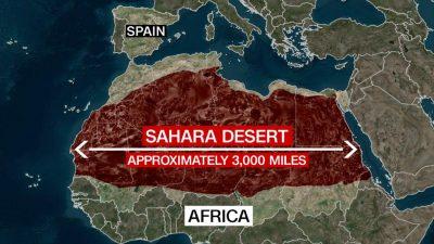 Sahara-desert