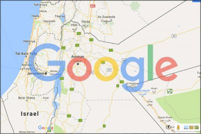 How Google Wipes Palestine Off the Map - Global ResearchGlobal ...