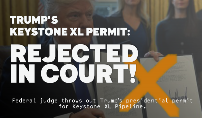 Federal Judge Rejects Trumps Approval Of Keystone Xl Pipeline
