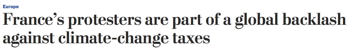Washington Post headline, December 4, 2018