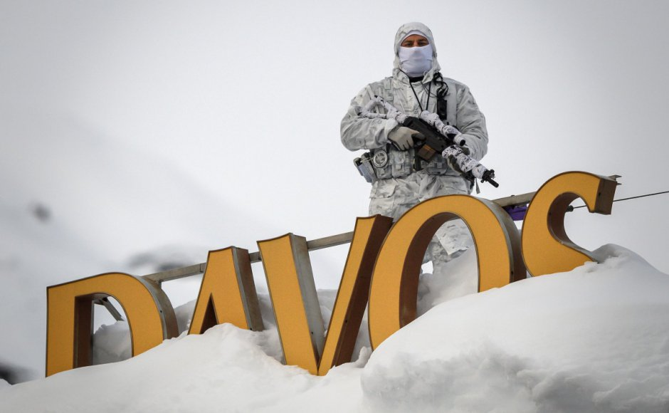 Global Economy on the Brink as Davos Crowd Parties On