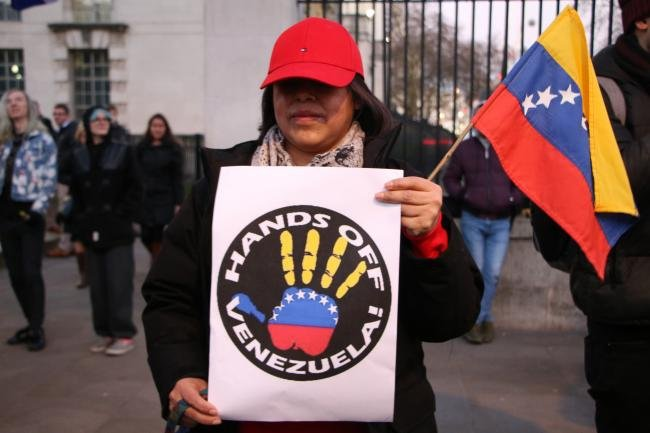 Hands Off Venezuela: US, Canada Go Home!