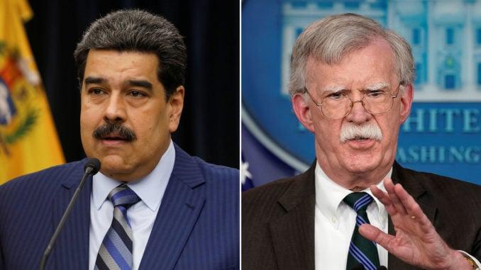 Bolton: I'll Send Maduro to Guantanamo
