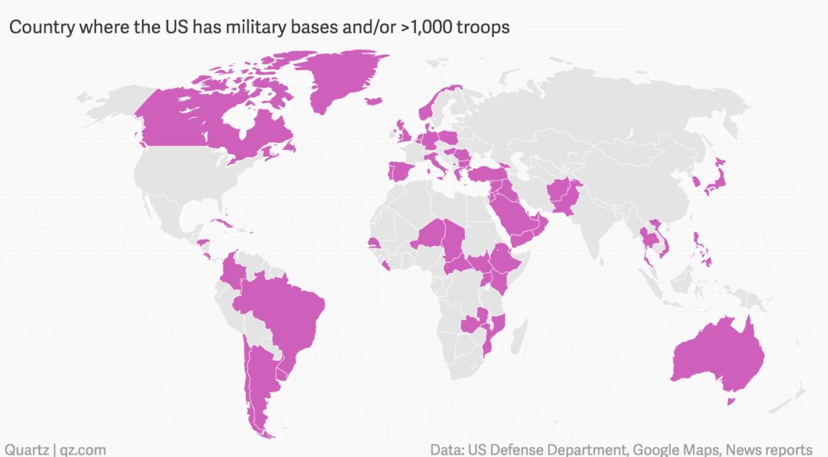 NATO-Exit: Dismantle NATO, Close Down 800 US Military Bases ...
