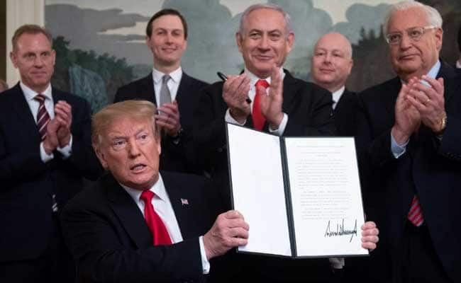 Trump Recognizes Israeli Annexation of Golan Heights: Green Light for Global War - Global Research