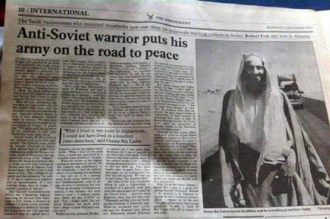 Afghanistan, the Forgotten Proxy War  The Role of Osama bin