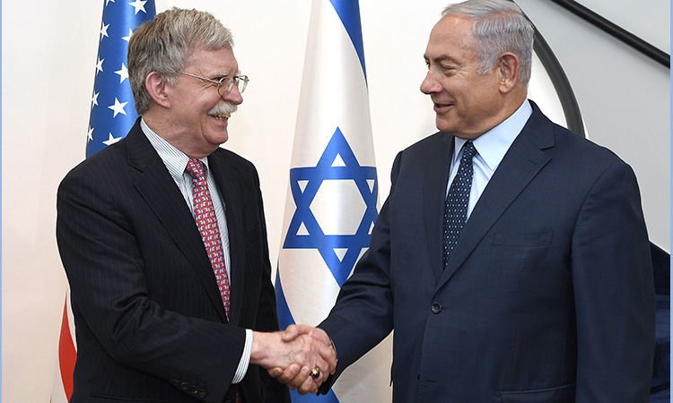 Bolton Is in Israel Conferring with Netanyahu How to Provoke US Attack on Iran - Global Research